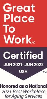 GPTW badge 2021-2022