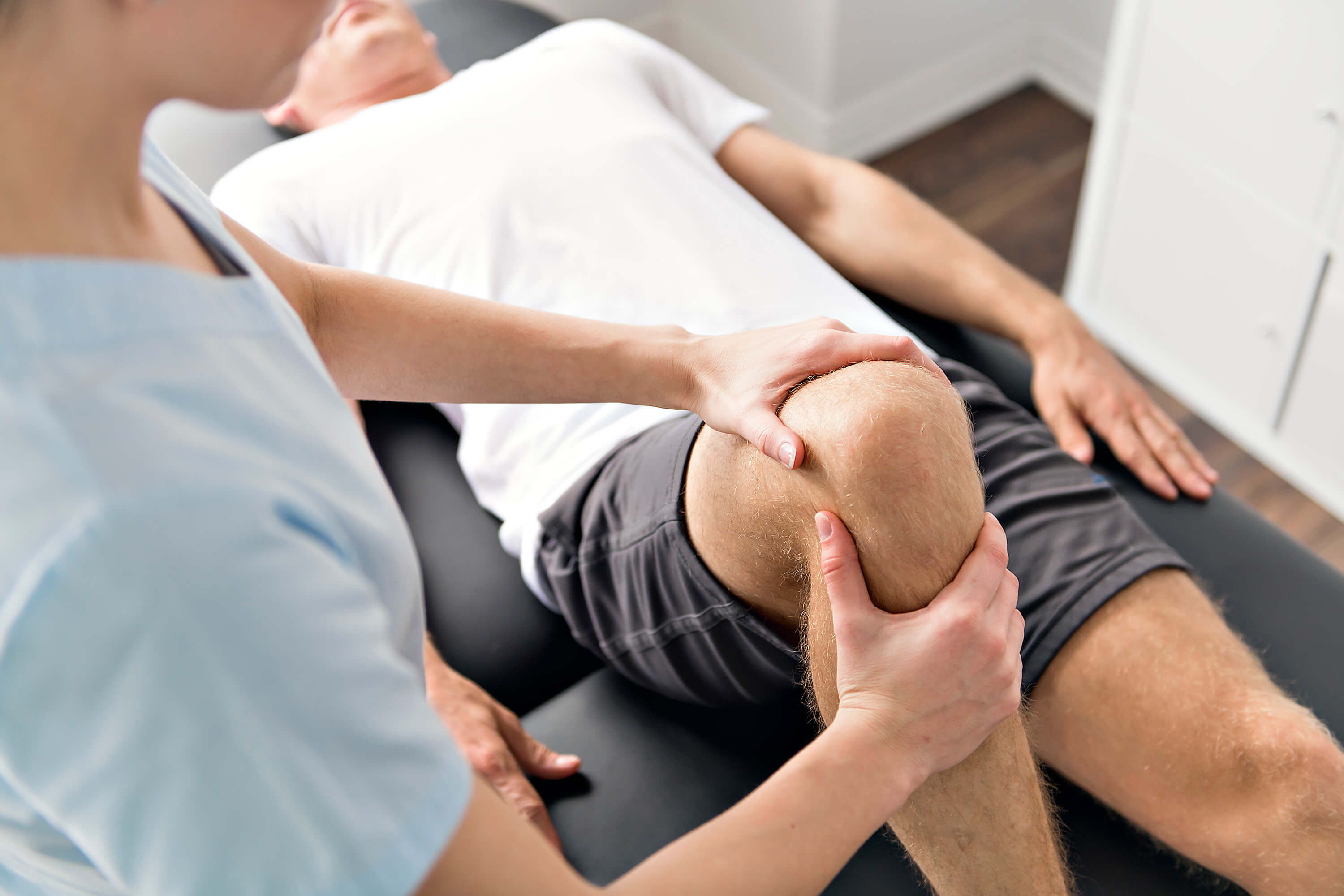 Physical Therapy with nurse